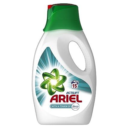 Detergente líquido Ariel Febreze 0,0975 l, 4 unidades (4 x 15 lavados