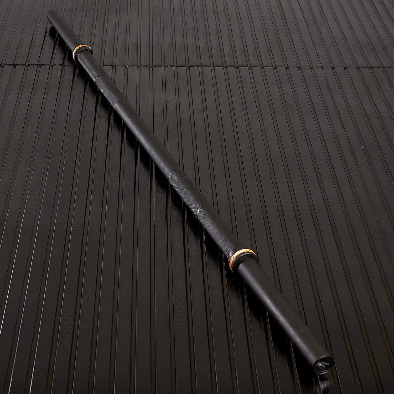 Mirafit 7ft Thick Grip Olympic Bar Black