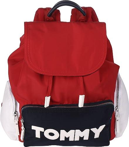 d26cc1cec8f8 TOMMY HILFIGER Tommy Nylon Backpack Corporate CB  Amazon.co.uk ...