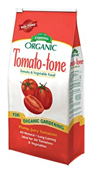 Best for Tomatoes and Peppers for Organic Rejuvenation of Soil Fertility: Espoma Tomato-tone Organic Tomato Fertilizer