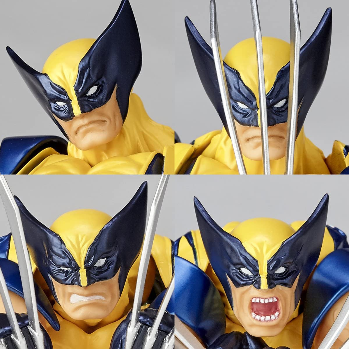 Kaiyodo Amazing Yamaguchi Revoltech Wolverine US Seller