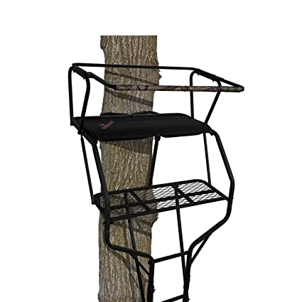 Amazon Big Game Ls4860 18 Guardian Xlt Two Person Ladderstand