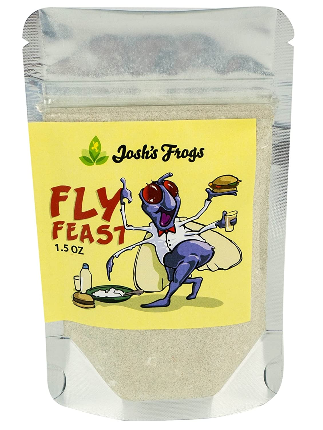 Josh's Frogs Fly Feast Attractant and Gutload (1.5 oz) Josh' s Frogs
