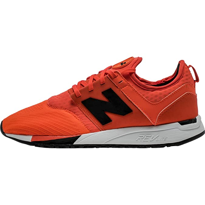 Scarpe uomo New Balance, mod. MR274, colore arancione, tomaia in mesh