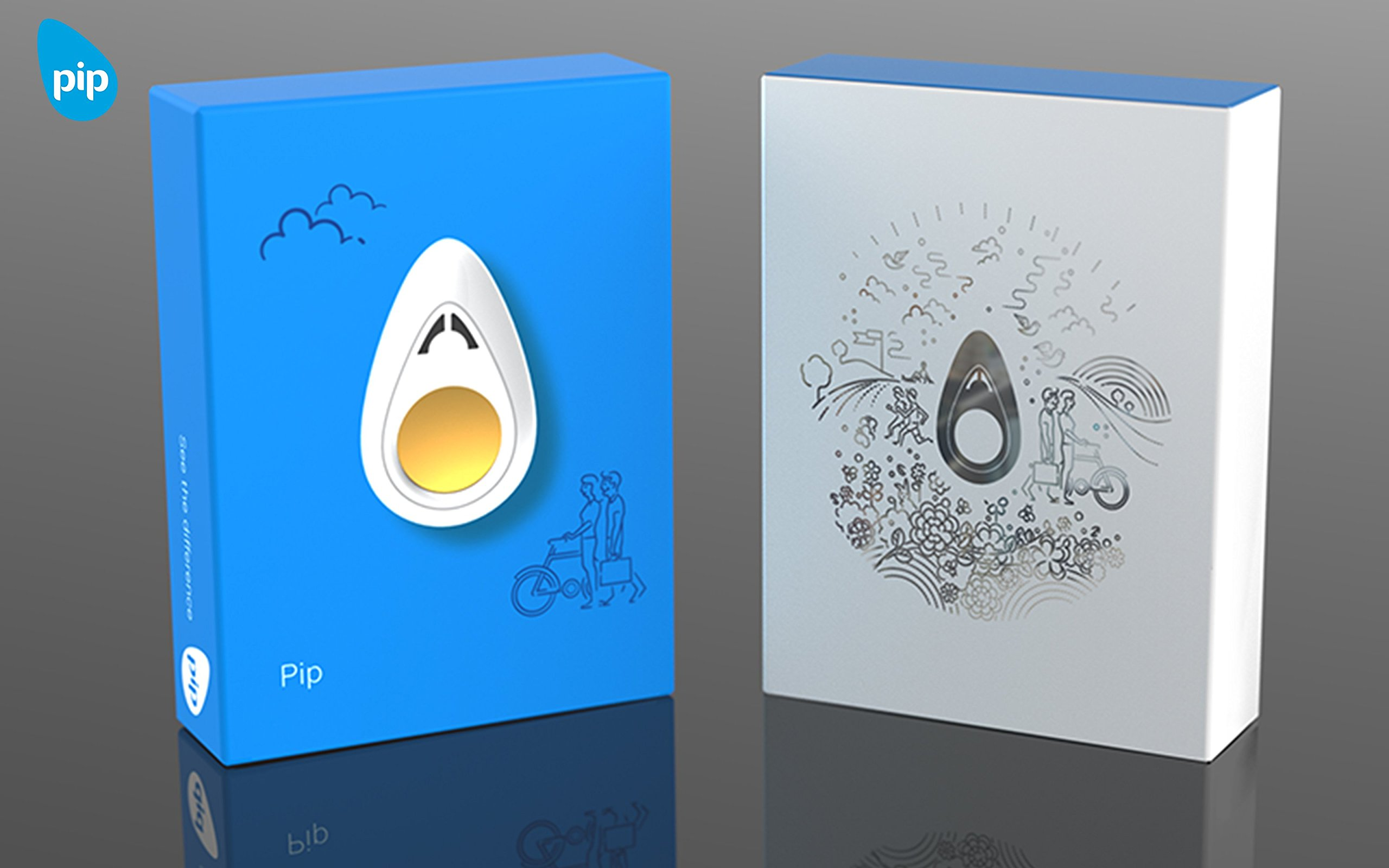 Pip - Personal Stress Sensor & Mental Fitness Trainer - Black by The PIP (Image #8)