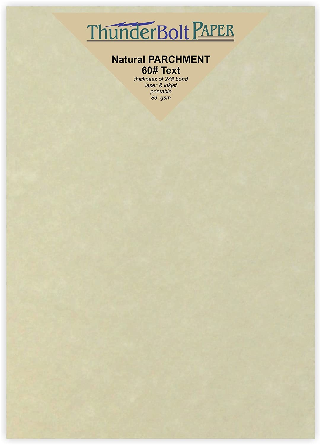 60 Pound is Not Card Weight 200 Light Brown Parchment 60# Text Vintage Colored Old Parchment Semblance Statement Size Paper Sheets =24# Bond 5.5 X 8.5 Inches Half Letter