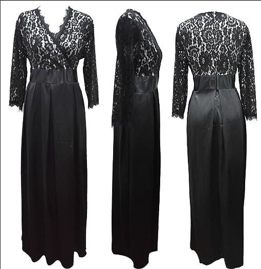 Paule Trevelyan NEW venda quente tamanho grande lace longo vestido de festa vestidos das mulheres mais
