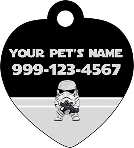 Star Wars Boba Fett *Inspired* Pet ID Tag Cat Tag Pet Tag Dog tag