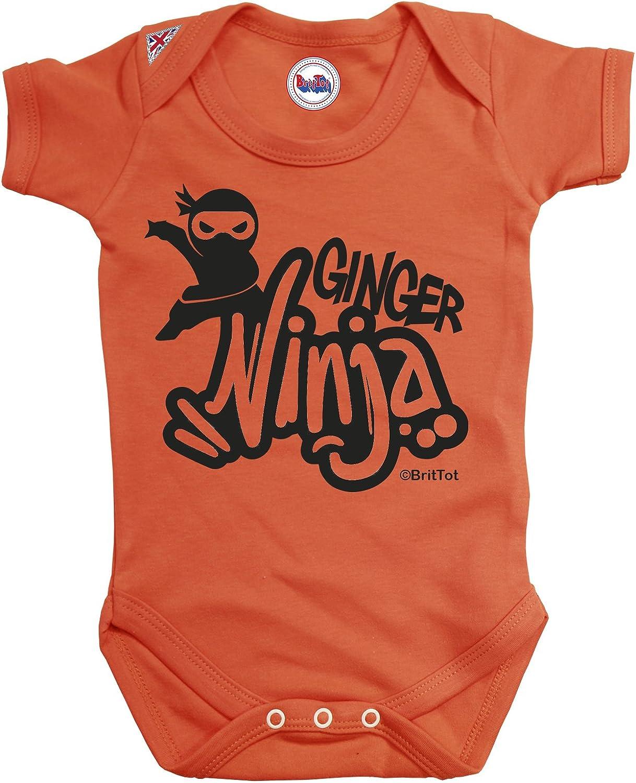Amazon.com: Ginger Ninja Baby Grow By BritTot Girls Boys ...