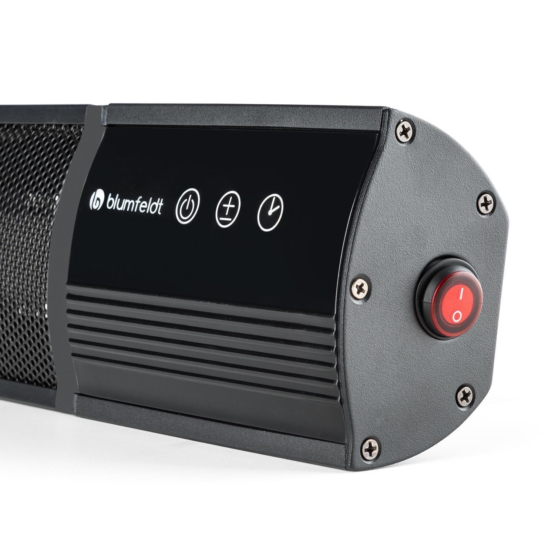 Blumfeldt Nitro Black Edition - Radiador infrarrojo ...