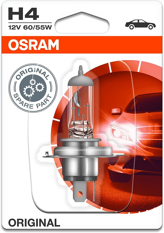 H4 OSRAM 12V 60//55W Halogen Headlight Bulb