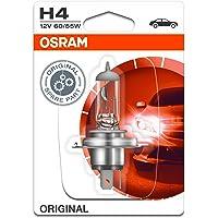 OSRAM 64193-01B Original Line 12V, H4, halogeen koplamp, enkele blister (1 lamp), wit