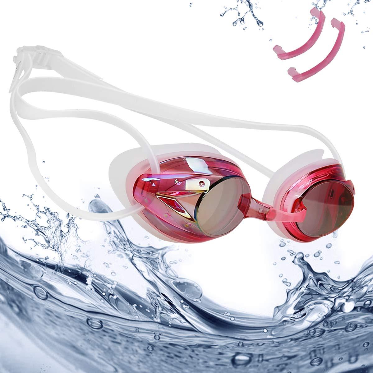 rabofly Gafas de Natación, Protección UV Antiniebla Gafas de nado Impermeable y Vista Clara Gafas para Nadar para Unisex Adulto y Niños product image