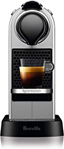 Breville-Nespresso USA BEC630SIL1BUC1 Nespresso CitiZ by Breville-Silver Single serve, capsule espresso maker, One Size
