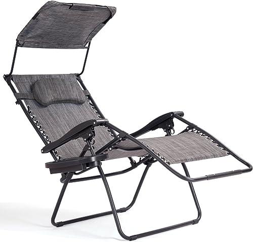 Editors' Choice: Goplus Folding Zero Gravity Lounge Chair Wide Recliner