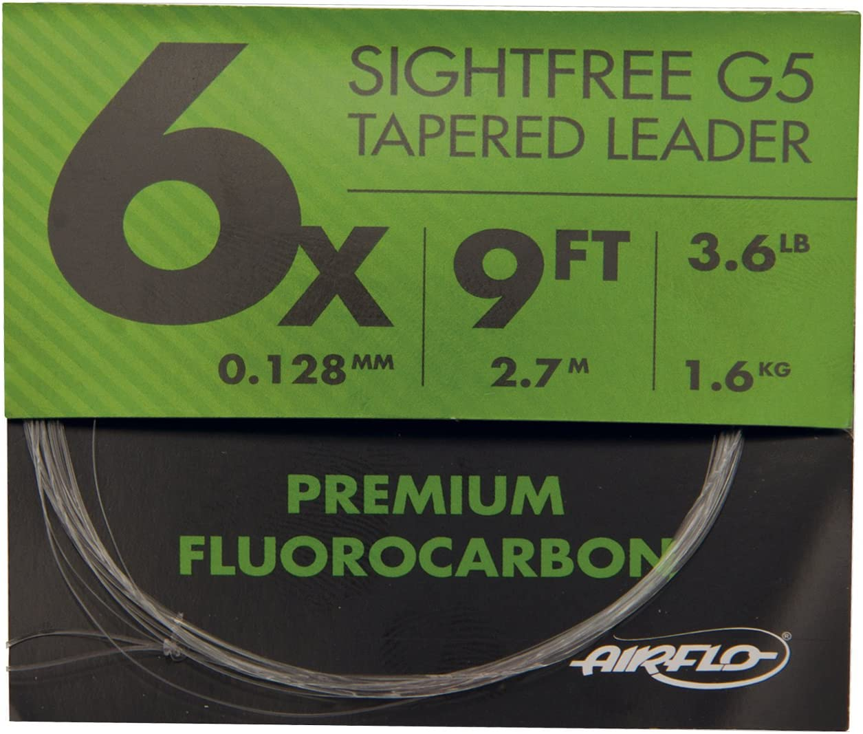 Airflo NEW G5 Fluorocarbon Fishing Leaders Various Options