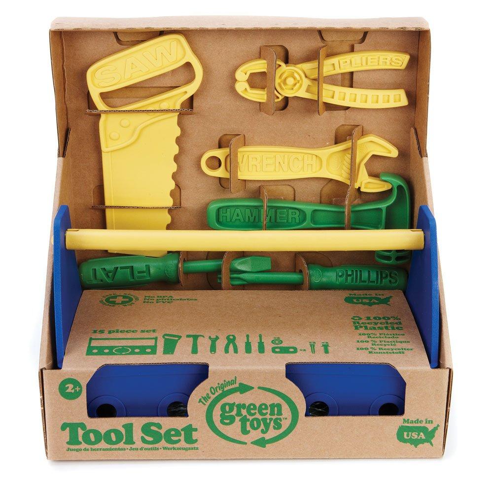 Blue Green Toys Tool Set
