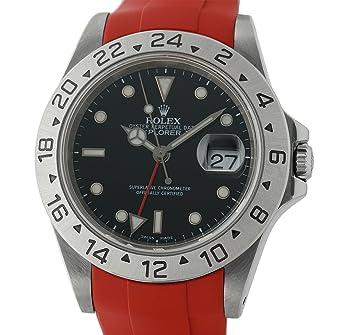 Amazon.com: Rolex Explorer II 16570 - Reloj automático, auto ...