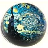 Van Gogh–Starry Night–con cupola in vetro fermacarte