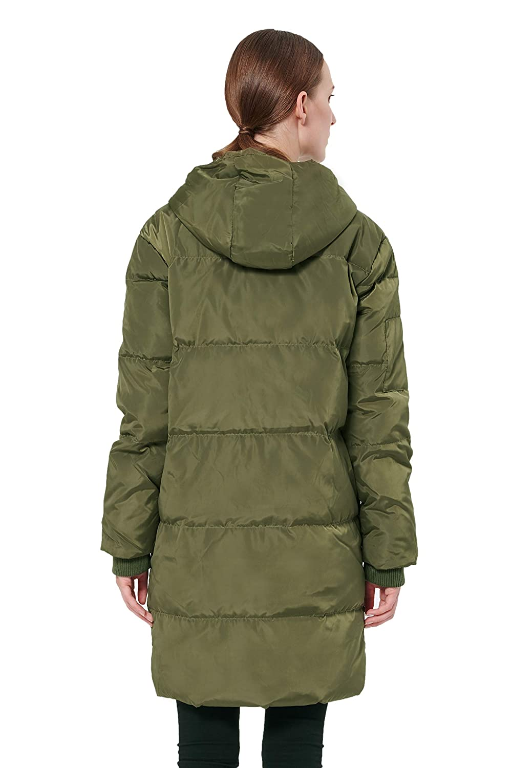 d2cd4de4dc6 Amazon.com: Orolay Women's Thicken Plus Size Down Jacket Hooded Coat:  Clothing