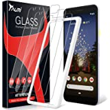 TAURI [3-Pack] Screen Protector for Google Pixel 3a, [Bubble Free] [with Easy Install Alignment Frame] Multiple Defense Techn