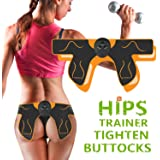 Ben Belle Abs Stimulator Electric Hips Trainer,Hip Trainer,Electronic Backside Muscle Toner, Smart Wearable Buttock Ab…
