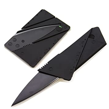 Amazon.com: Cuchillo plegable para tarjeta de crédito BT ...