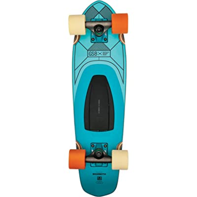 "Globe Blazer GSB Speaker Board Teal Complete Skateboard - 7.25"" x 26"" : Sports & Outdoors"