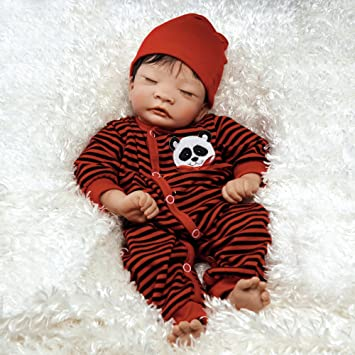 f0e7757132ec Amazon.com  Paradise Galleries Lifelike Asian Reborn Baby Doll Panda ...