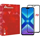 VALUEACTIVE Accessories For All Edge-to-Edge 7D Full Glue Tempered Glass Screen Protector for Honor 8X (Black)