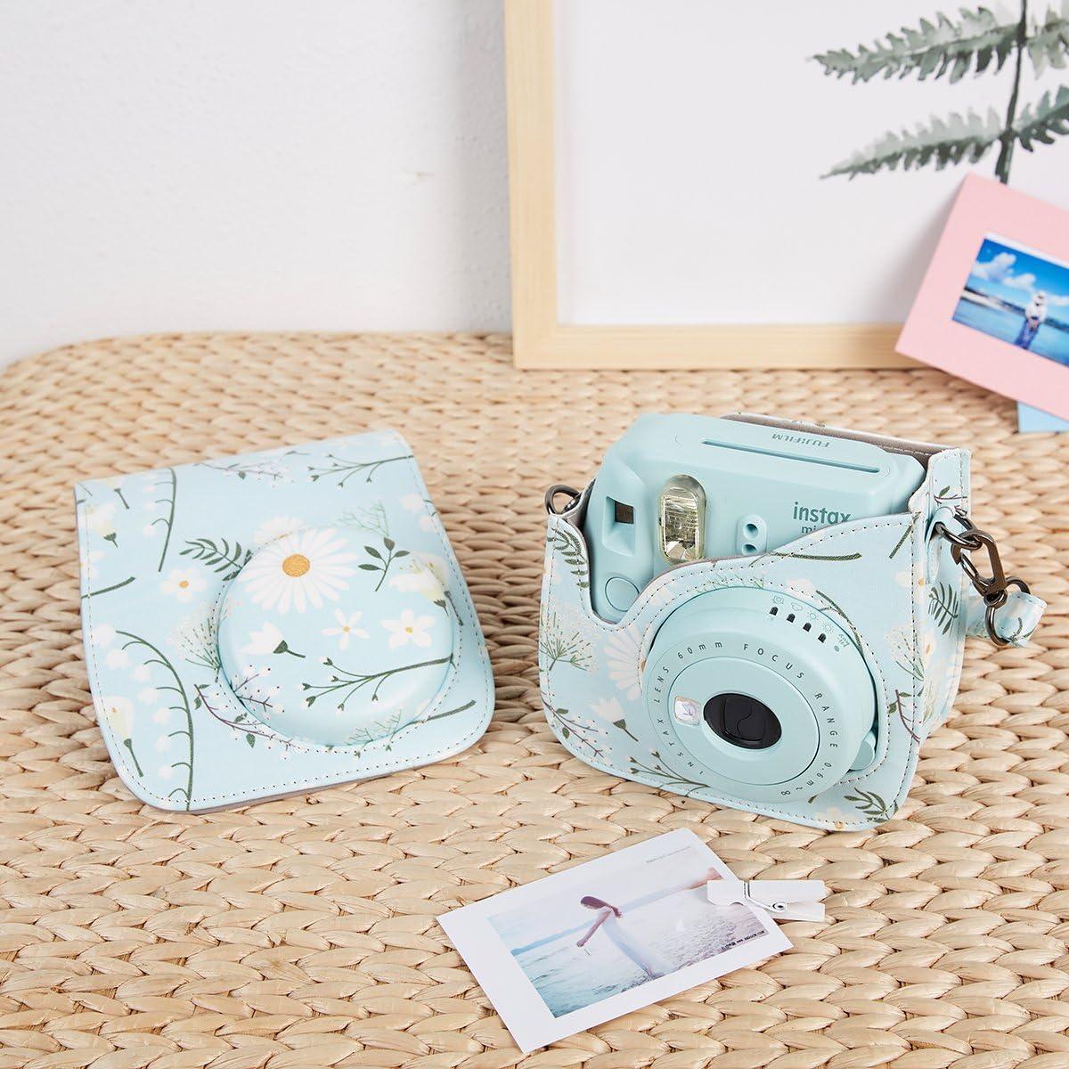 Alohallo 15 in 1 Instax Mini 9 Camera Accessories Set for Fujifilm Instax Mini 9// Mini 8// Mini 8 Black A Camera