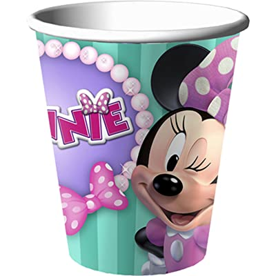 Disney Minnie Mouse Bow-tique Dream Party 9 0z Cups: Toys & Games