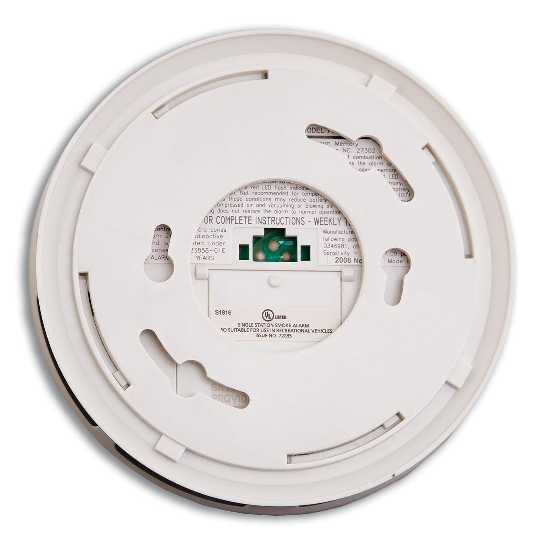 kidde pi9010 dual sensor battery operated smoke alarm smoke detectors amazoncom