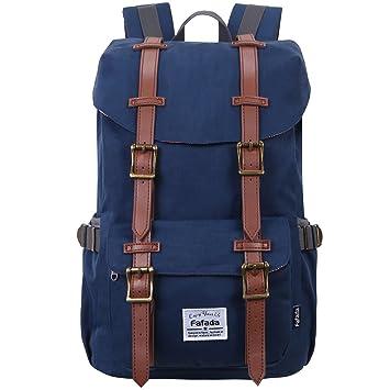 f407f7829c071 Fafada Rucksack Damen Herren Studenten Uni Rucksack Casual Backpack ...