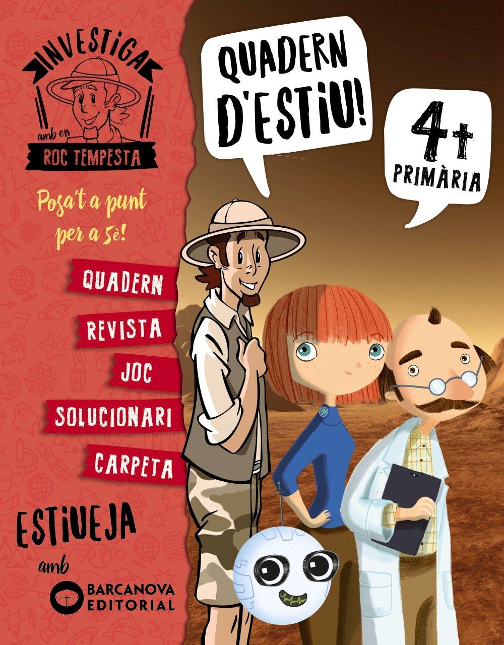 Investiga amb Roc Tempesta 4. Estiueja amb Barcanova: Amazon.es: Núria  Murillo, Ximo Cerdà, Òscar Sardà, Teresa Ramos: Libros