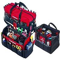 Husky 3 Bag Combo 12-in Toolbag, 15-in Tote and BONUS Duffle Bag