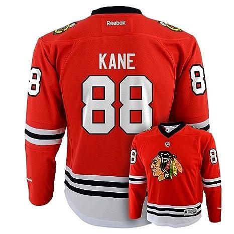 Patrick Kane Chicago Blackhawks Red Youth Replica Jersey Large X-Large c8388802e