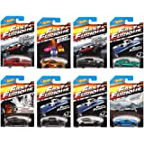 Hot Wheels Fast And Furious Hot Wheels 2015 Complete Set Of 8, Limited Edition, Amazon Exclusive 1:64 Diecast