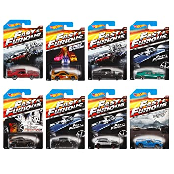 All Fast And Furious Cars >> Buy Hot Wheels 1 64 Diecast Fast And Furious Cars Set Of 8