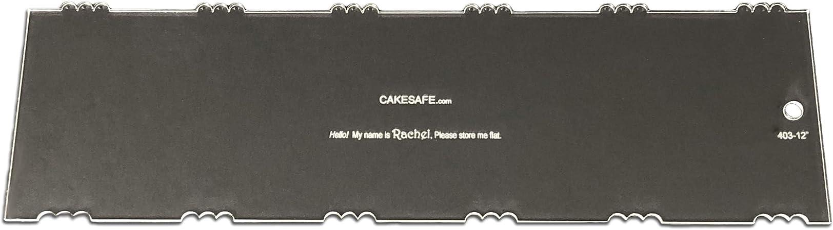 "CakeSafe Rachel Cake Comb 12/"""