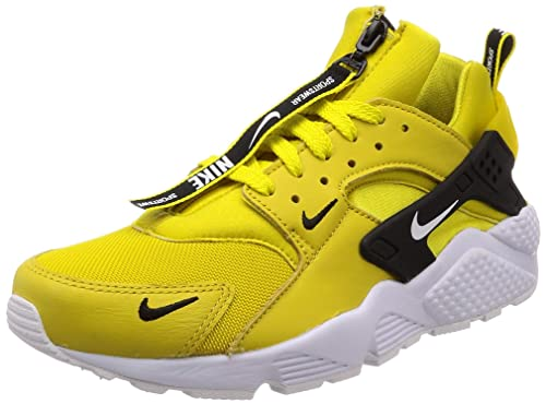 new product bd3d1 23515 Nike Air Huarache Run Prm Zip, Scape per Sport Indoor Uomo, Limone Bianco
