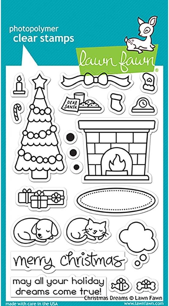 """Stars Lawn Fawn Clear Stamps 3/""""x2/""""-how You Bean"""
