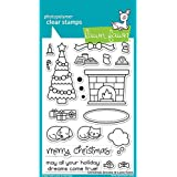 "LAWN FAWN Clear Stamps 4""X6"" Christmas Dreams (LF1466)"