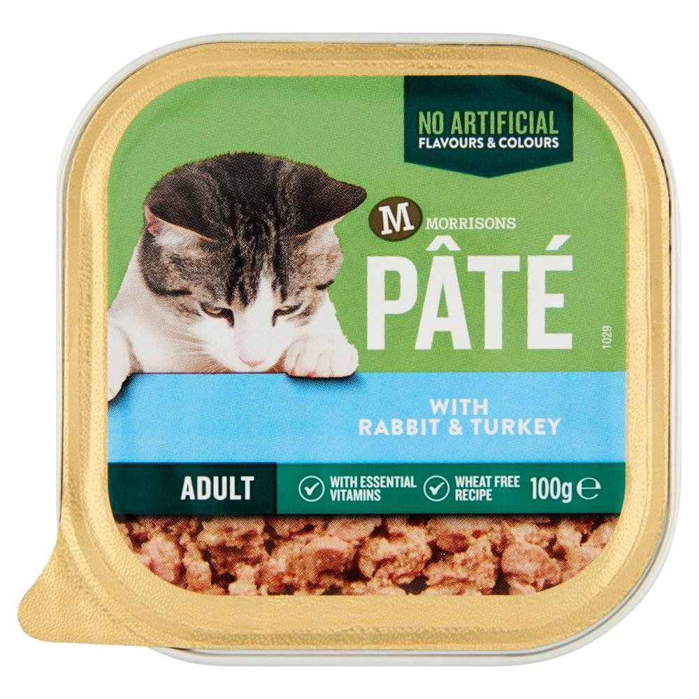 Morrisons Pate With Rabbit And Turkey Cat Food 100 G