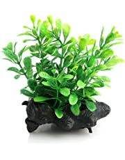 Naisicatar Eau Plante Plastique Herbe Arbre Ornement Décor Aquarium artificielle Fish Tank
