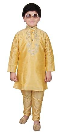 Boys Dress Clothes Gold