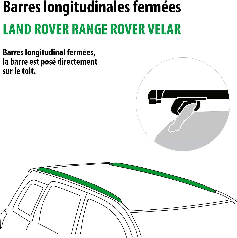 111287-37713-1-FR Rameder Pack Barres de Toit Pick-Up pour Land Rover Range Rover VELAR