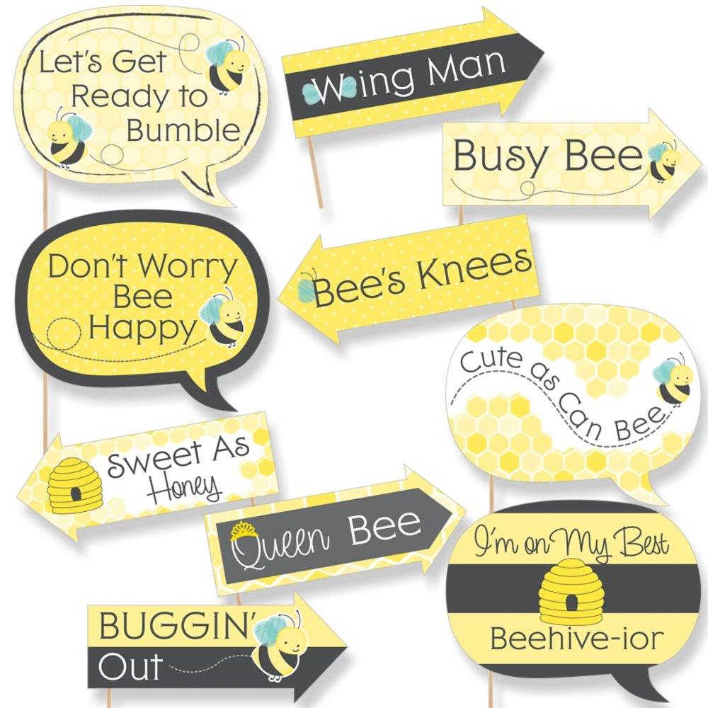Amazon.com: Funny Honey Bee - Baby Shower or Birthday Party Photo ...