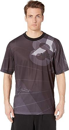 3a1e66d67efcf adidas Y-3 by Yohji Yamamoto Men s AOP Football Shirt Parachute Black AOP X-