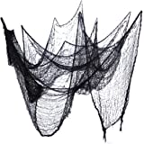 2-Pack Halloween Creepy Cloth Black Spooky Halloween Party Decorations & Supplies